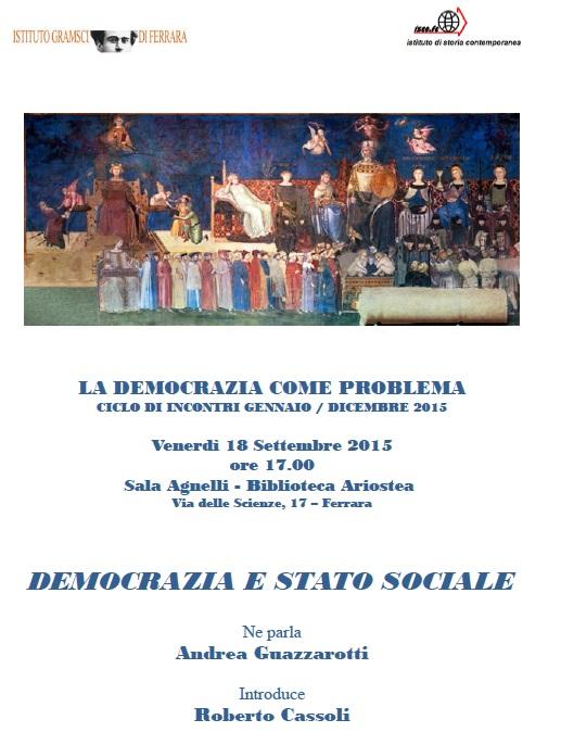 democrazia e stato sociale