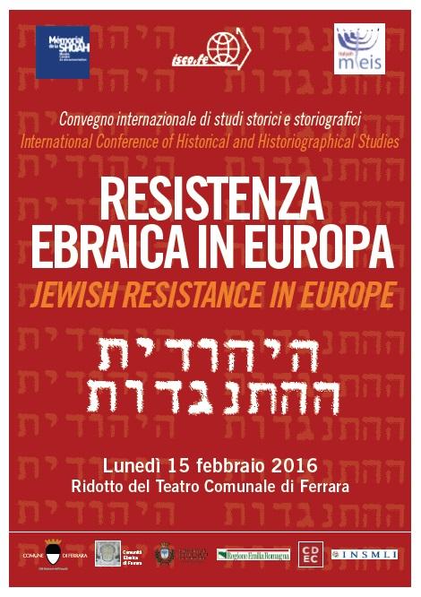 convegno resistenza ebraica